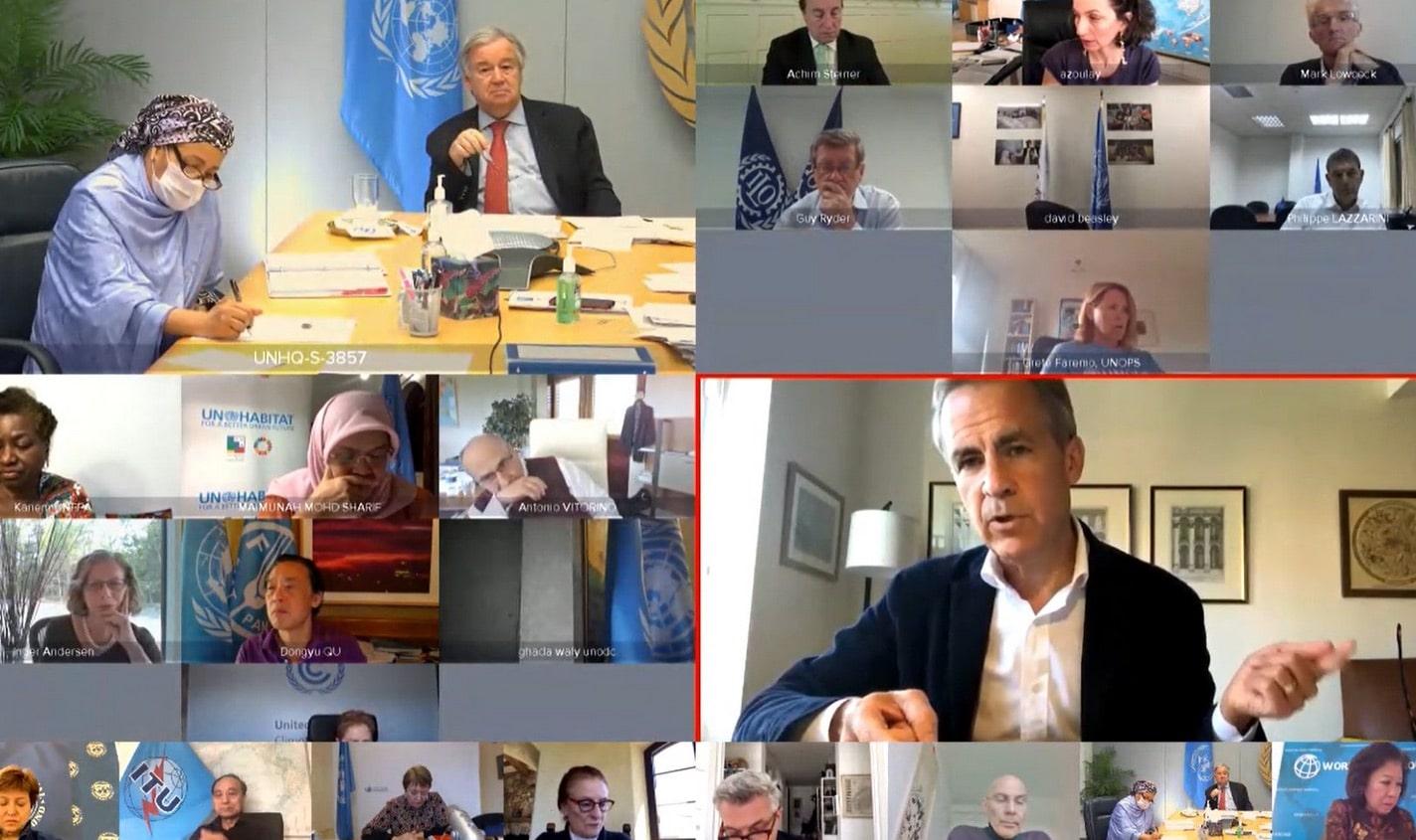 Image from a tweet by UN Deputy Secretary-General Amina J Mohammed