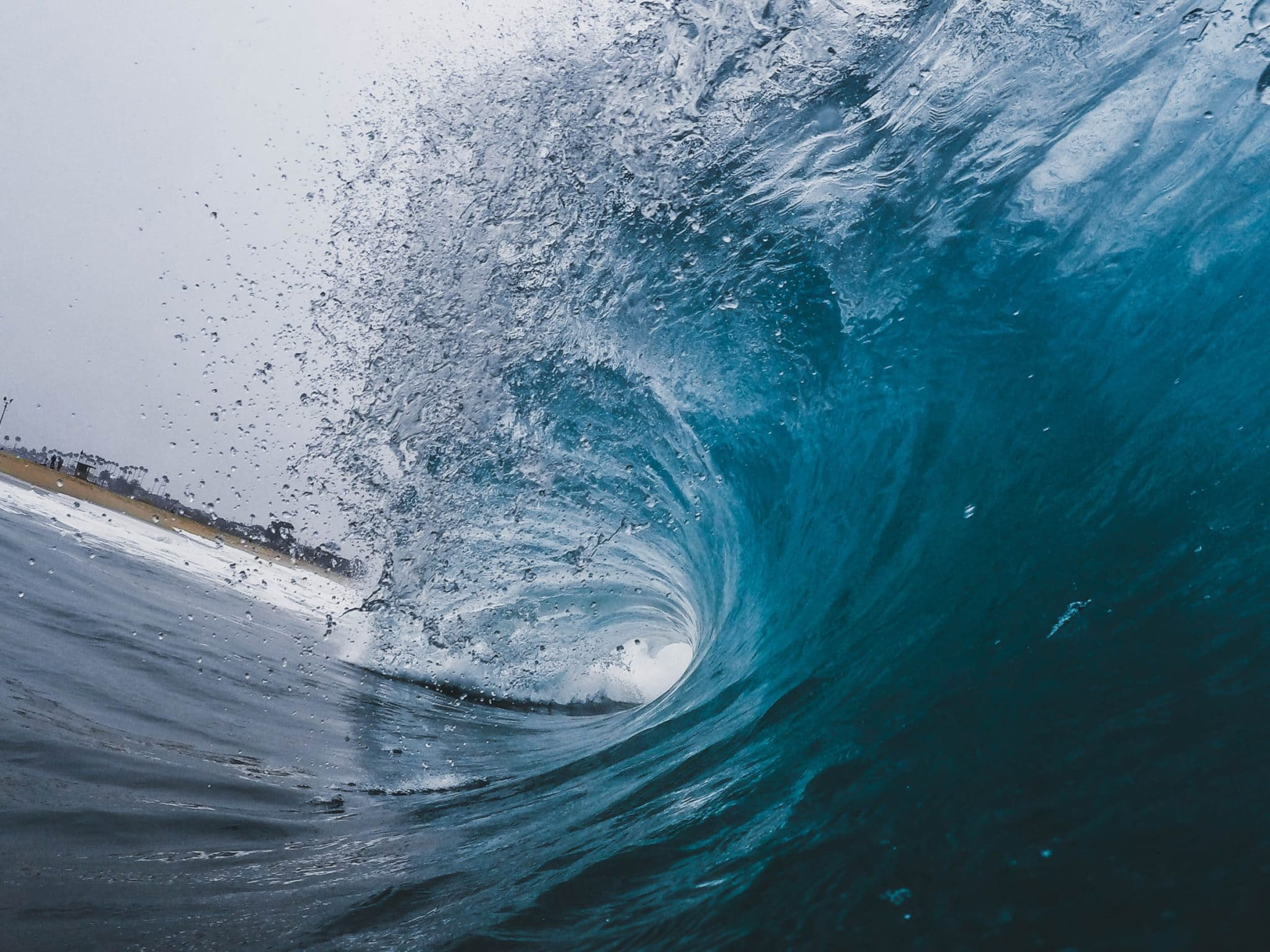 Worried about the next wave? Photo by Jeremy Bishop on Unsplash