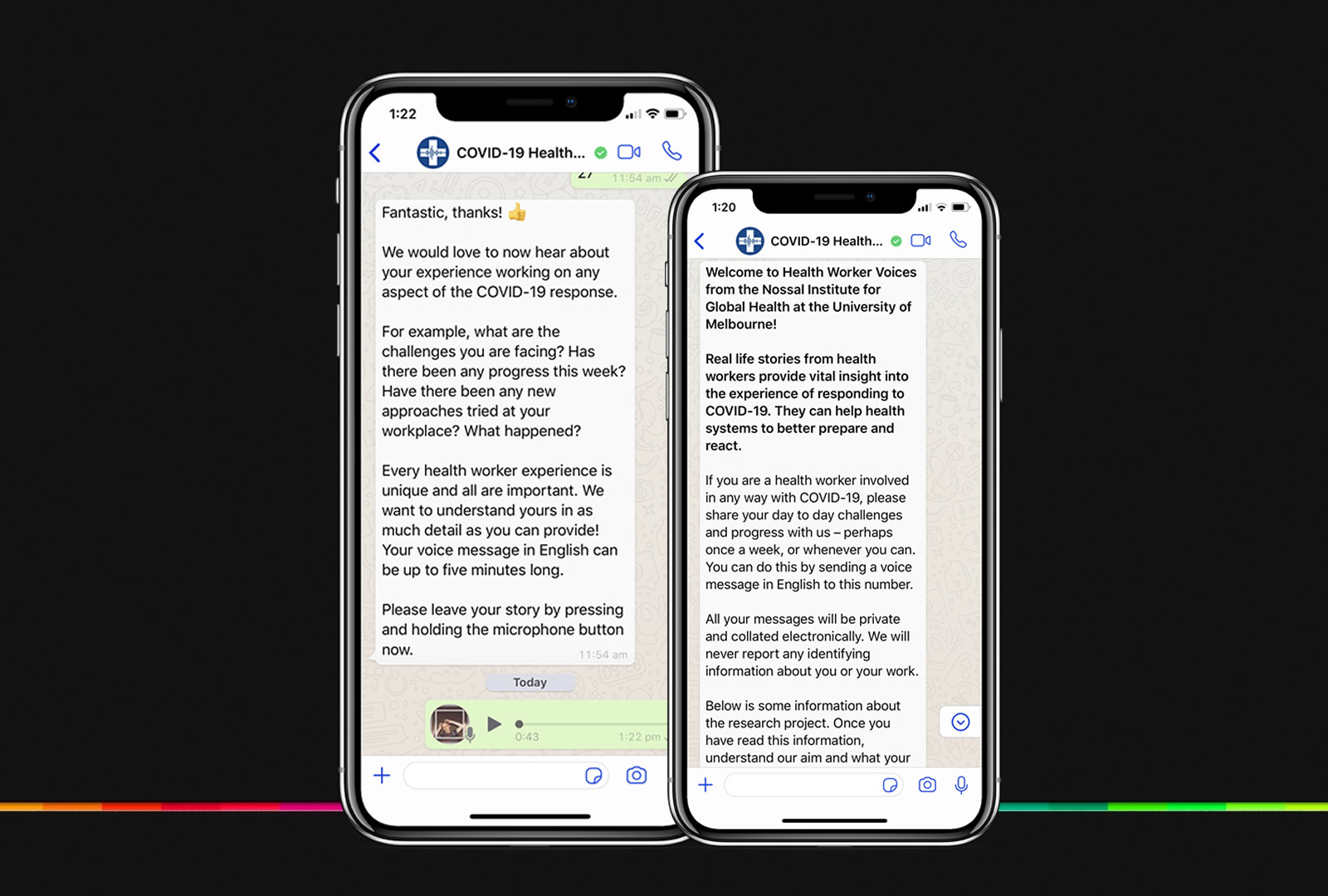 COVID-19 Health Worker Voices: a new project gathering health system insights from the frontline via WhatsApp
