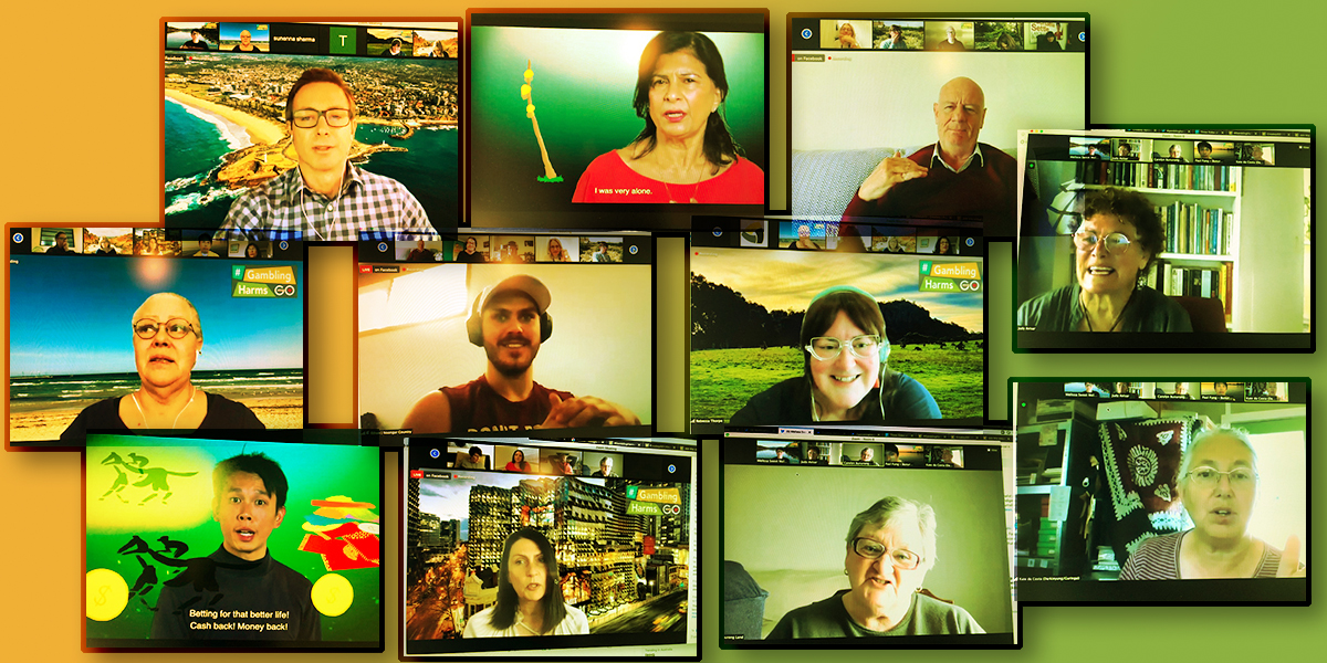 Ending the silence on gambling harms: personal stories ring the bell for change