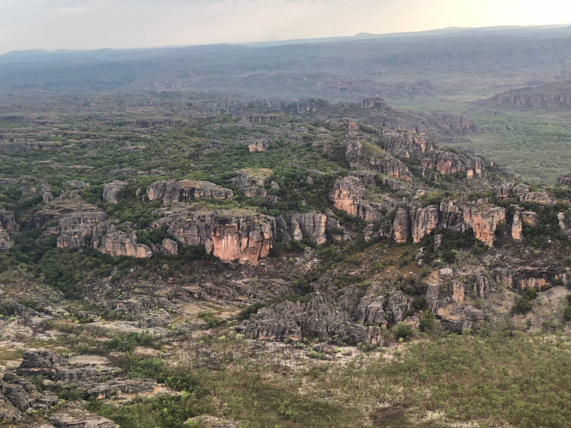 Information is shared by young males in the NT about mental health, the benefits of being on-country, and the importance of friends and family, a research project has found. Photo: Kakadu, Marie McInerney.