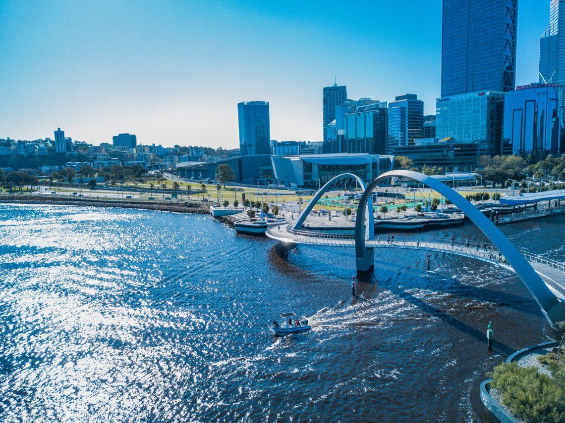 Perth views. Photo by Josh Spires, via unsplash