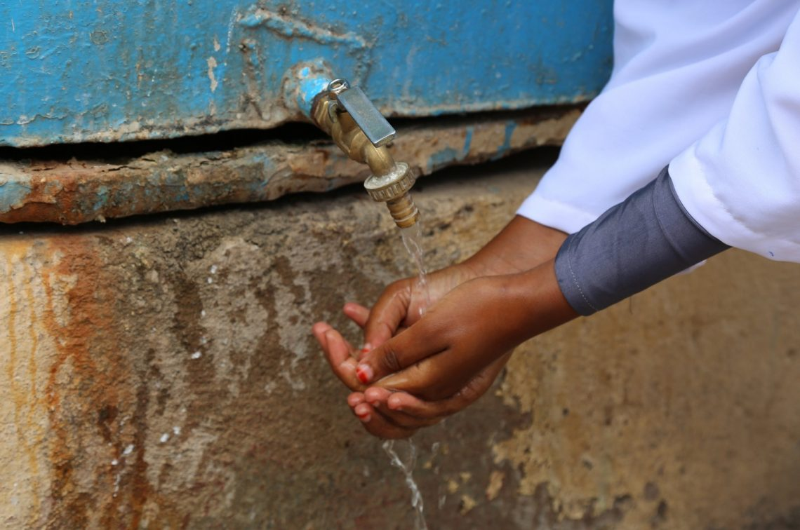 WHO plan puts focus on water, sanitation and hygiene. Source: WHO tweet