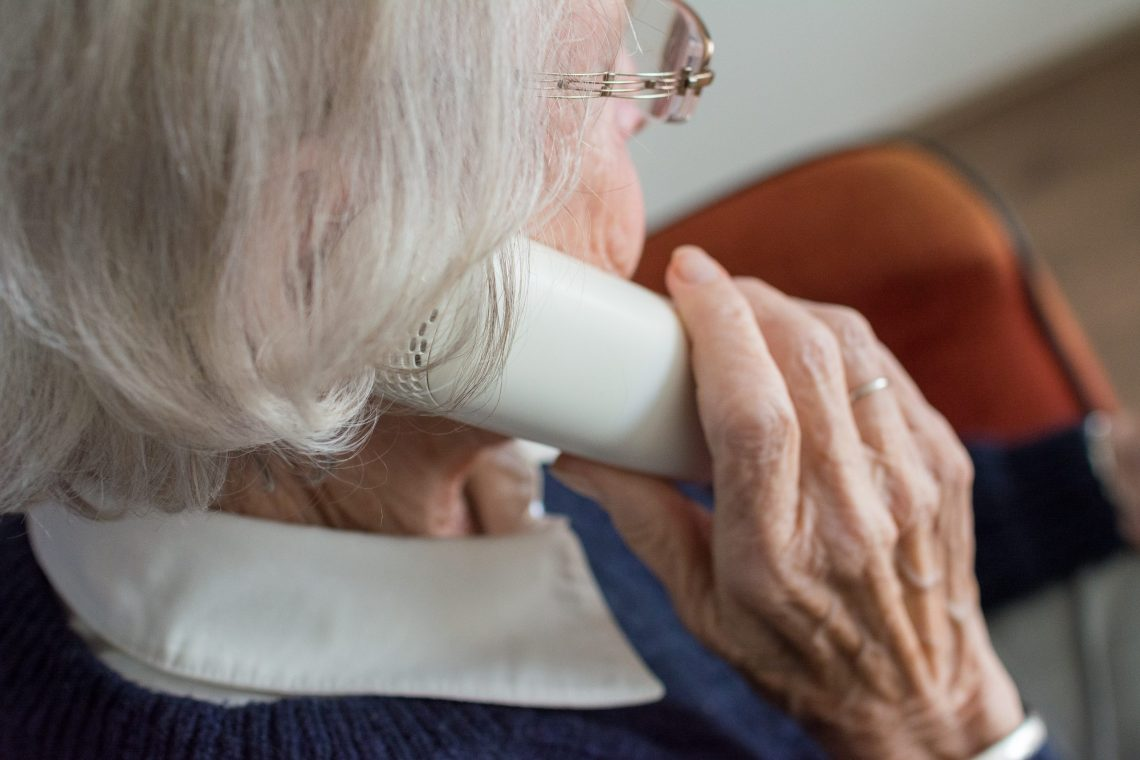 During the Victorian lockdown, elderly patients could consult with their GP without leaving home. Image by Sabine van Erp.