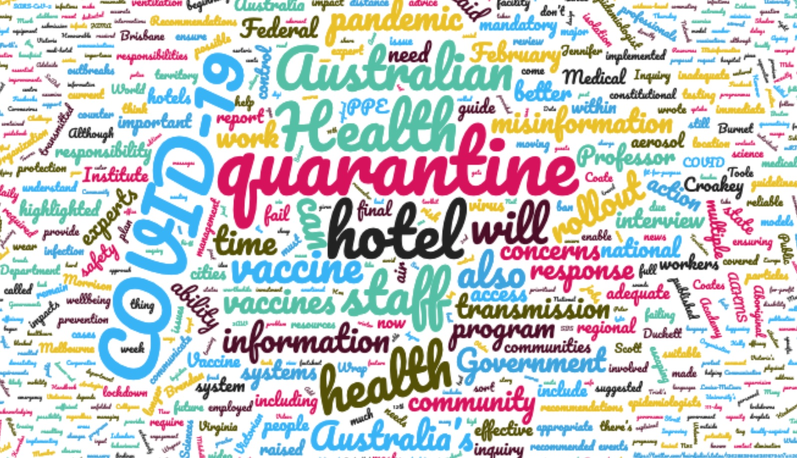 COVID-19 wrap: concerns on quarantine, misinformation overload and useful resources