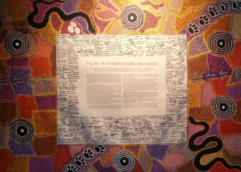 Uluru Statement from the Heart. Photo by Lea McInerney