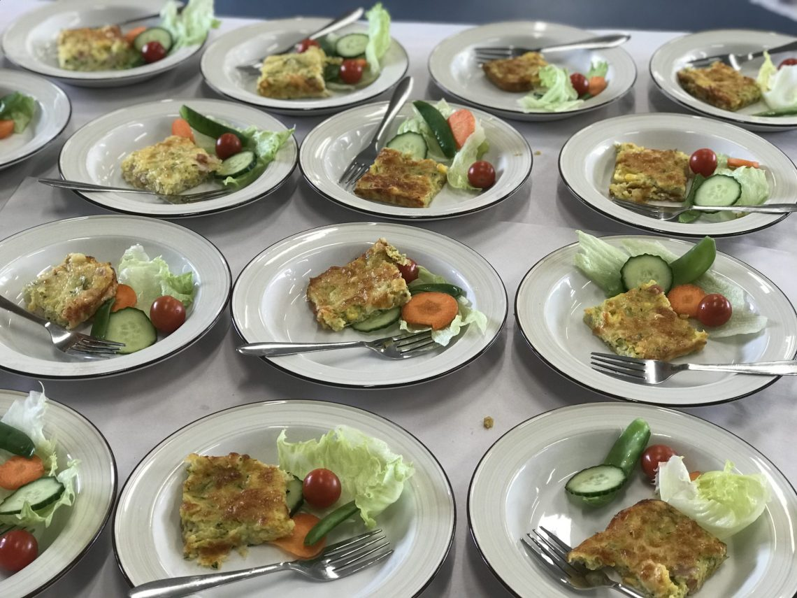 Nutritional lunches served up in a Tasmanian school trial: Supplied