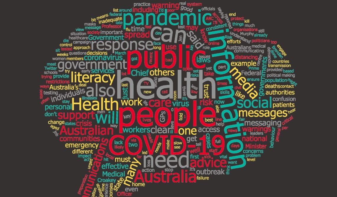 The analysis found wide-ranging concerns about governments' pandemic communications