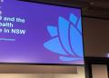 NSW chief psychiatrist Murray Wright presents to the #RANZCP2021 symposium on COVID-19.  Photo: Sarah Carr