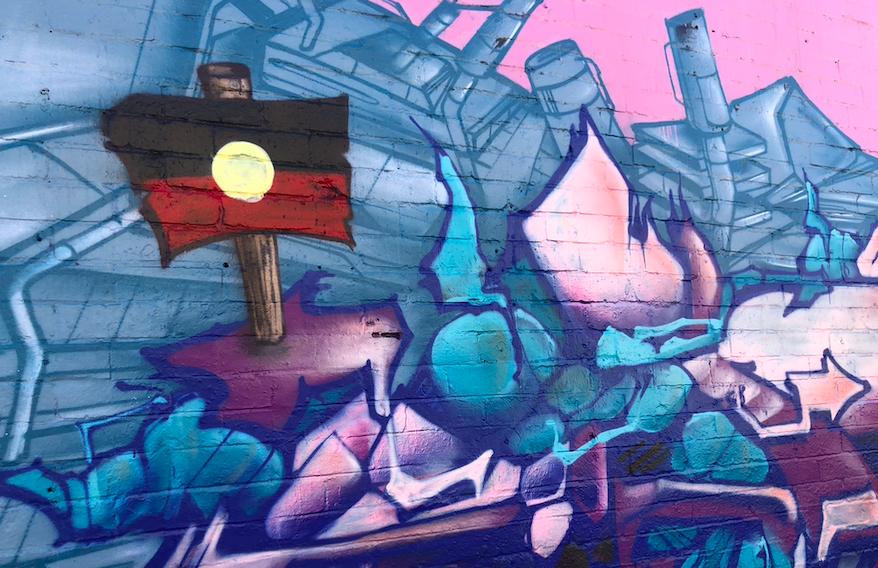 Mural, Melbourne. Photo: Marie McInerney