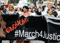 Putting women's safety on the agenda, including for mental health. #March4Justice rally, Brisbane. Photo by Stewart Munro on Unsplash
