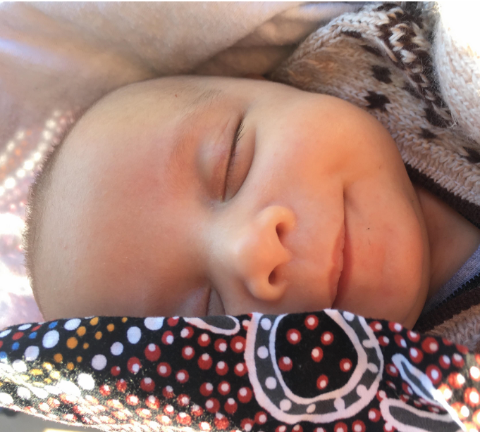 Baby Luke. Photo provided by author Kristie Watego.