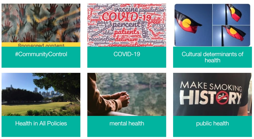 Some of the featured categories at our new homepage