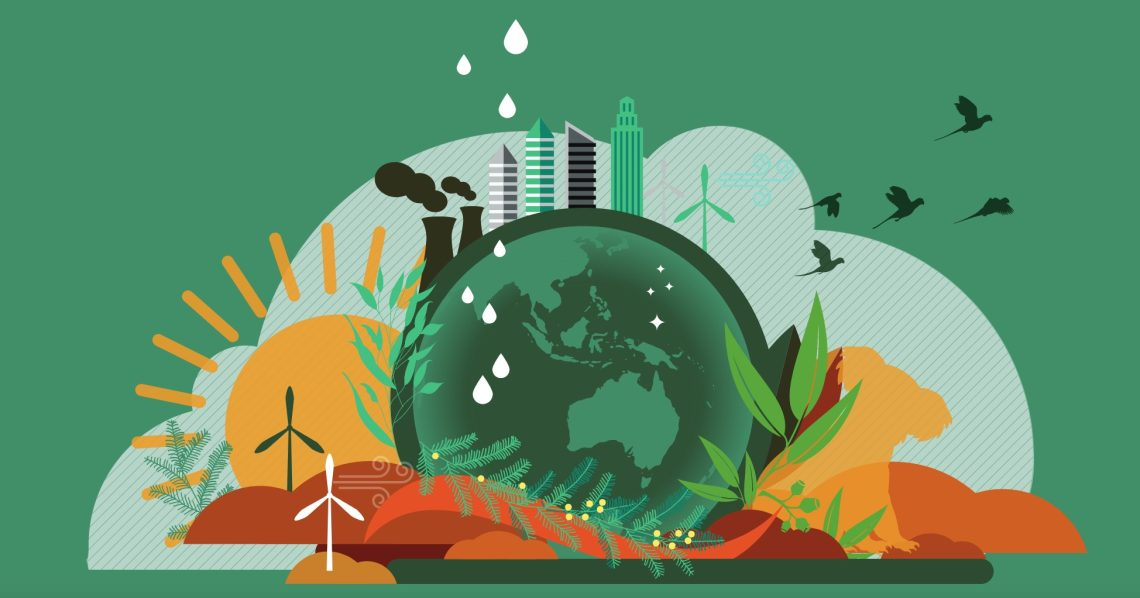 Image from the cover, An Australian Glossary on Health and Climate Change