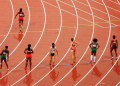 Image of women's athletics event sourced from Pixabay