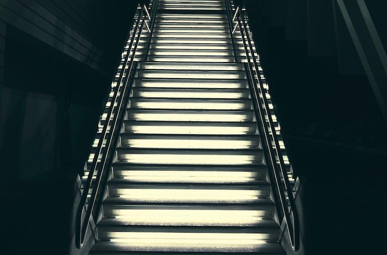 Steps to trust. Photo by Luca Bravo on Unsplash