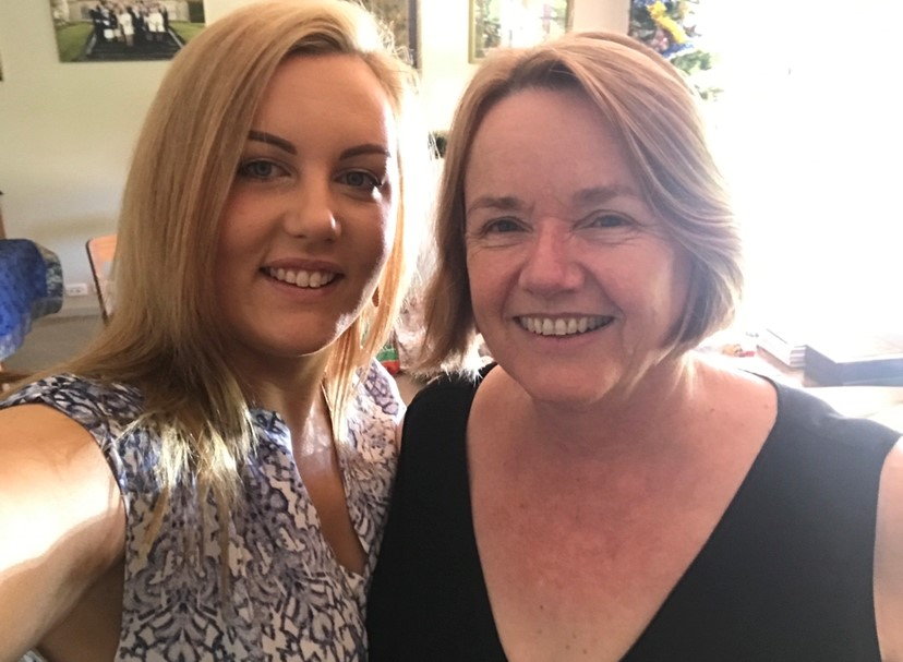 Policies that keep people cut off from their loved ones should never be the accepted norm. Alison Verhoeven (right) and niece Tamara Salins.