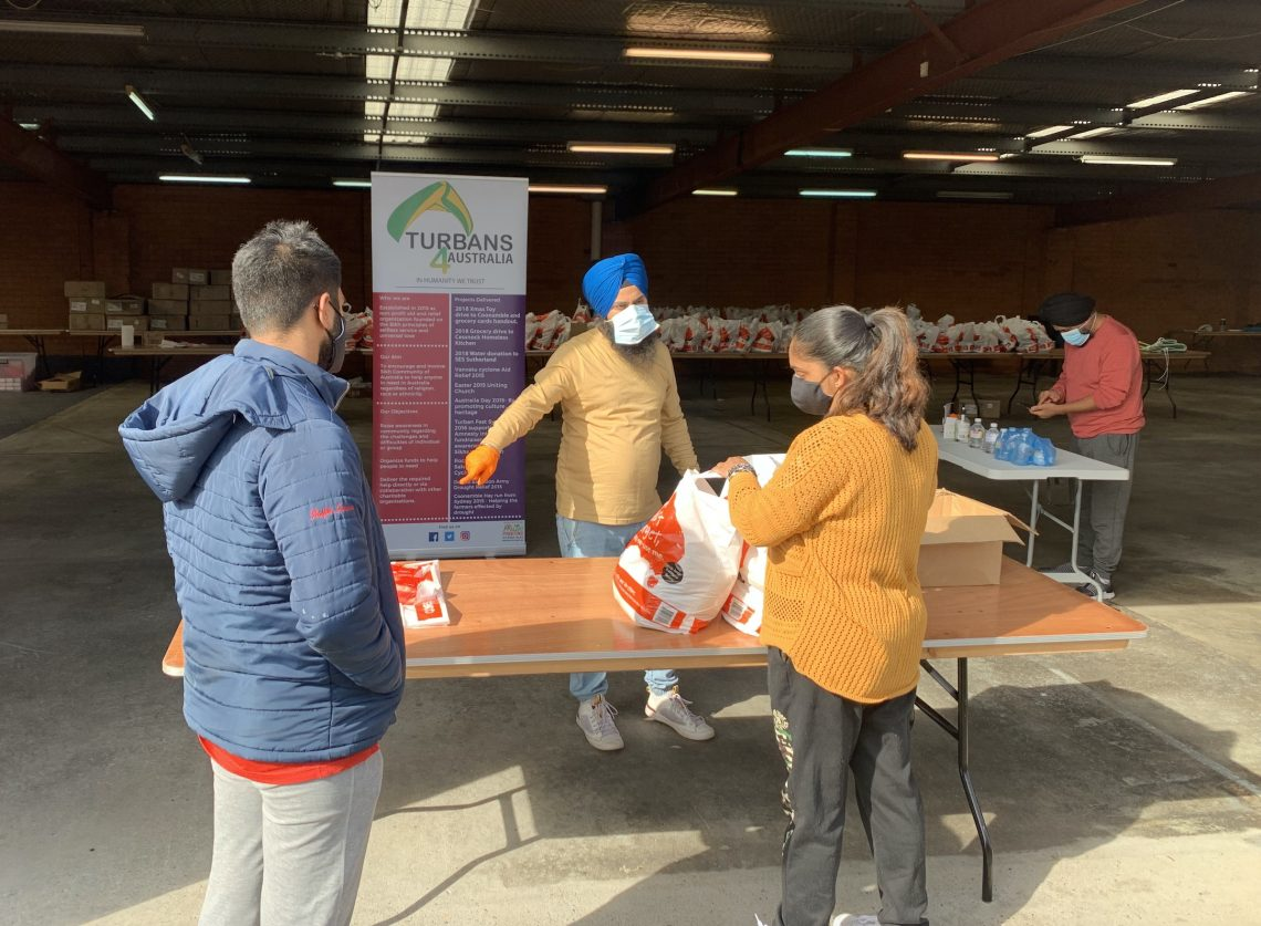Communities organising for support. Photo supplied