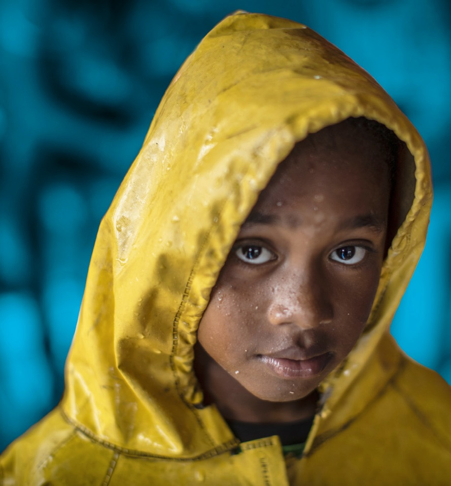 Image from cover of a new UNICEF report on the climate crisis and children