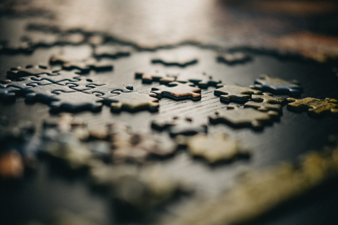 Missing pieces in the data puzzle. Photo by Gabriel Crismariu on Unsplash