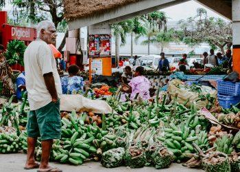 Photographer Adli Wahid's street scene in Vanuatu where Cuban-trained doctors are easing pandemic pressures.  Credit: Unsplash