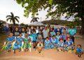 Community on Kerriri Island (Hammond Island), after the report was handed down. Photo credit: David Williams - Gilimbaa