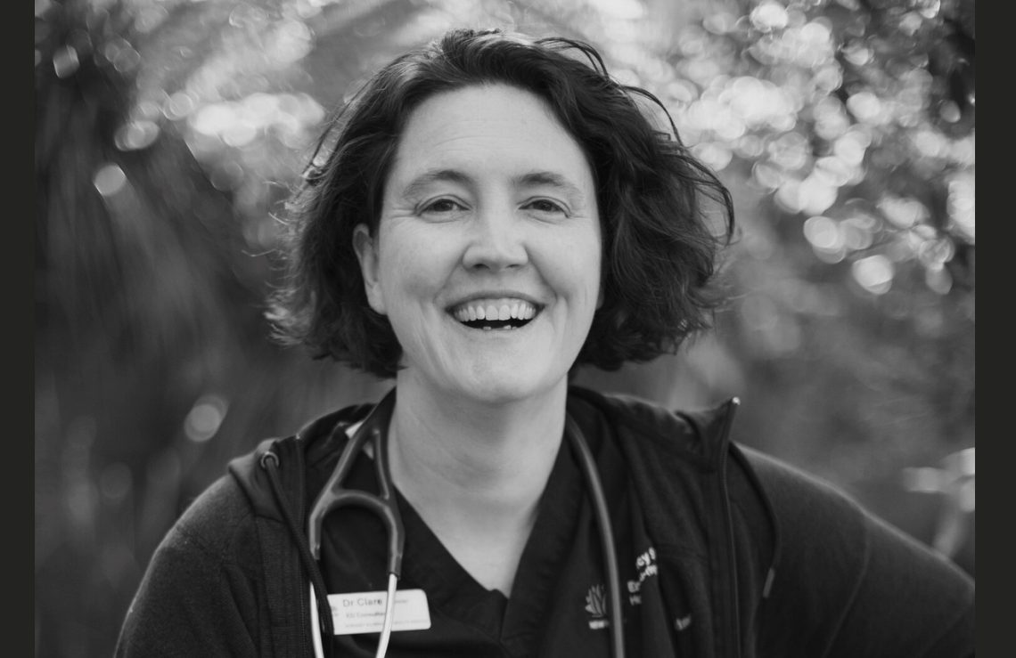 """Dr Clare Skinner: """"I encourage all of us who care about health, to think, to dream, and to advocate, much bigger."""" Photo courtesy of author"""